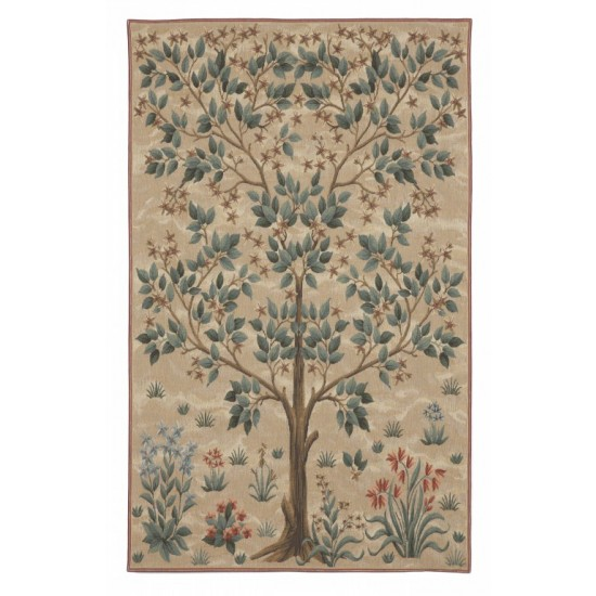 Tree Of Life Tapestry Cream