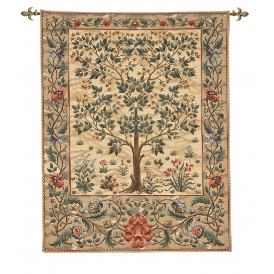 Tree of Life Tapestry - Light