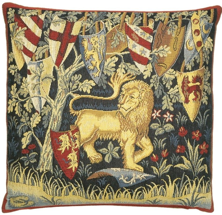 King Arthur-Lion Pillow Cover Tapestry Fabric Wall Hangings Custom ...
