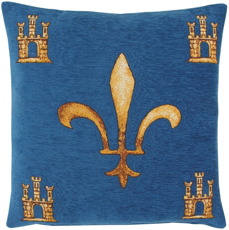 French tapestry pillow cover