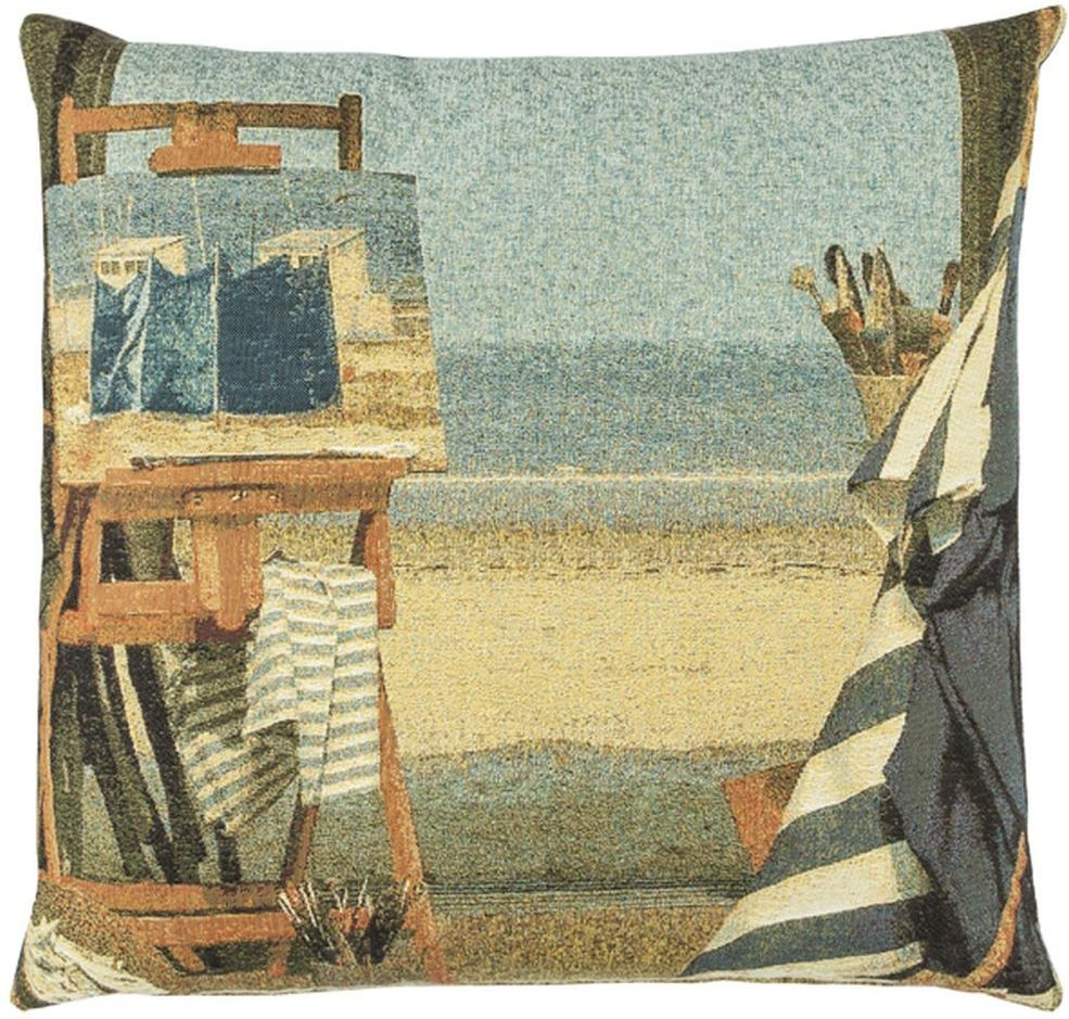 Beach Easel Pillow Cover Tapestry Fabric Wall Hangings Custom Tapestries