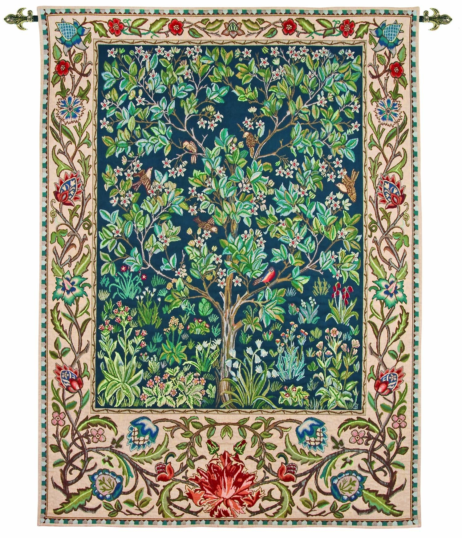 Charming The Garden Tapestry