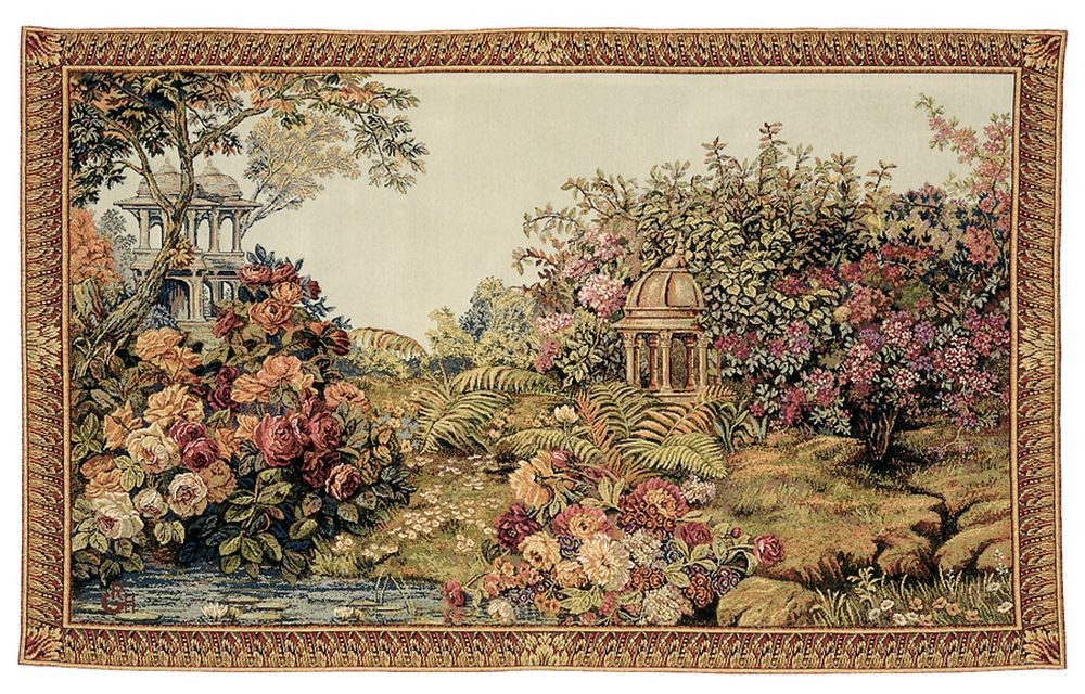 The Enchanted Garden Tapestry