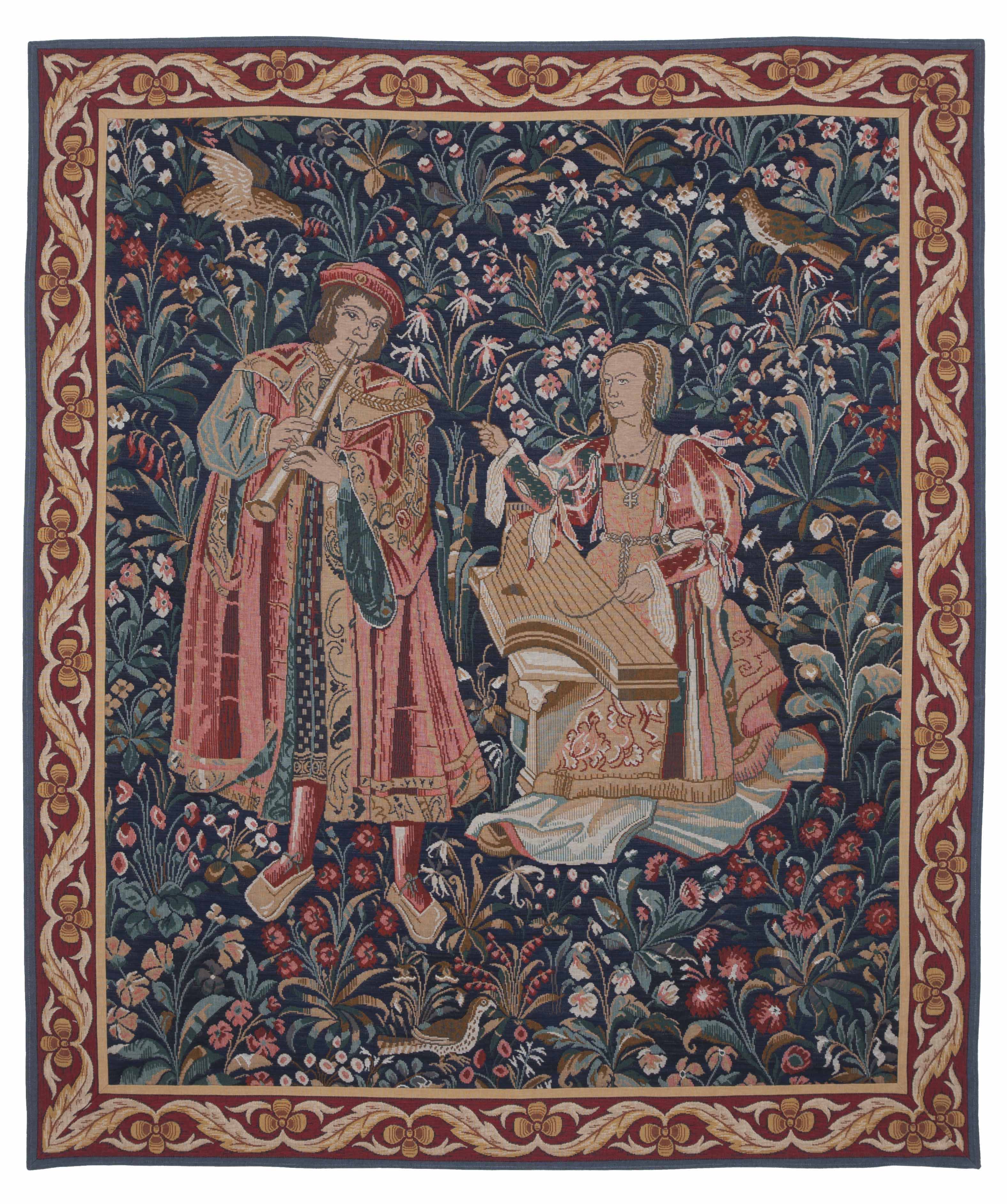 Medieval Musicians Tapestry Medieval Musicians Tapestry Tapestry
