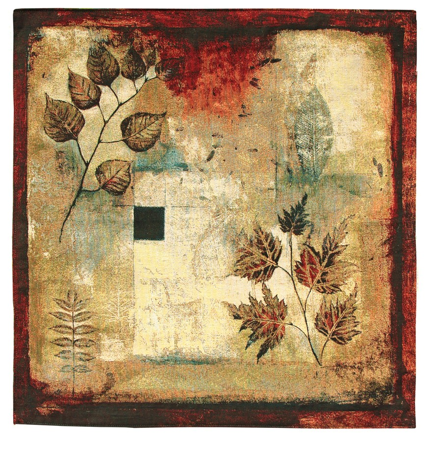 Autumn Abstract I Woven Art Tapestry Tapestry Fabric Wall Hangings ...