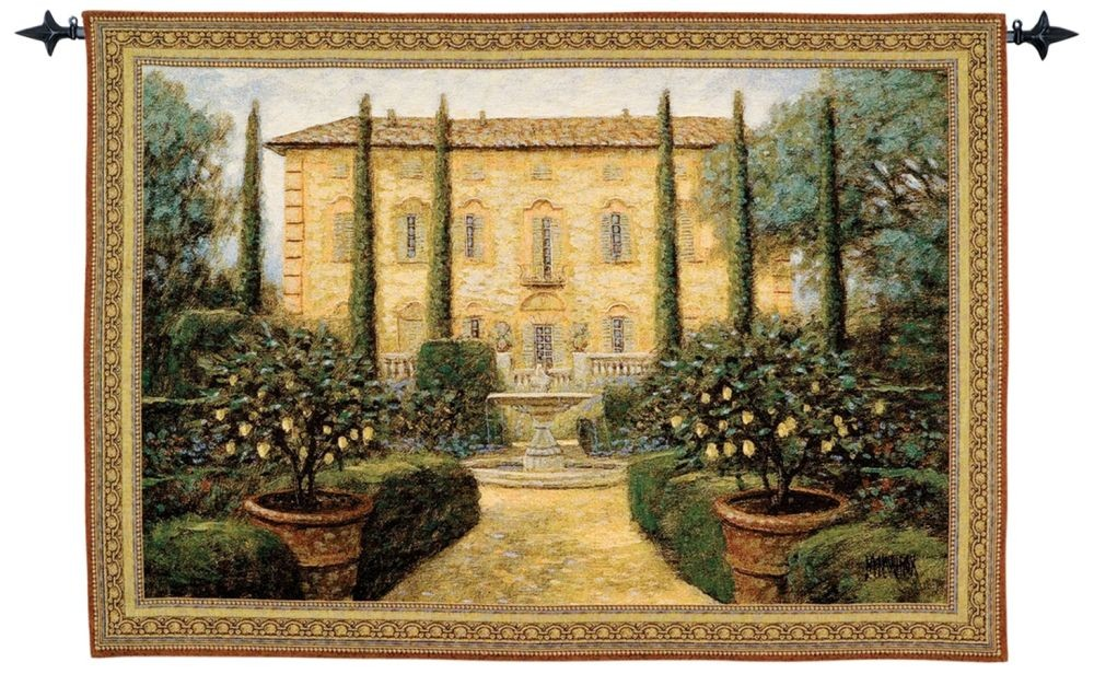 f96e0a45a1 Tuscany Villa Woven Art Tapestry Tapestry Fabric Wall Hangings ...