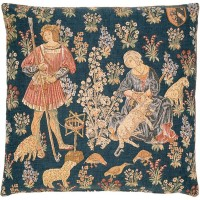 Woolworkers Pillow Cover