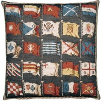 Flags-Dark Pillow Cover