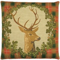Stag's Head Pillow Cover