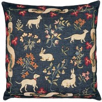 Medieval Animals Pillow Cover