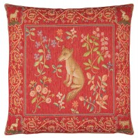 Medieval Fox Pillow Cover