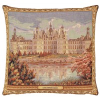 Chateau Chambord Pillow Cover