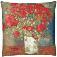 Poppies Pillow Cover