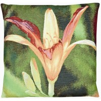 Red Lily Pillow Cover