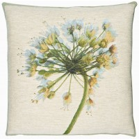 Agapanthus - Blue Pillow Cover