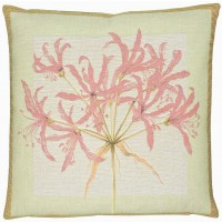 Agapanthus - Pink Pillow Cover