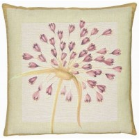 Agapanthus - Violet Pillow Cover