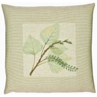 Leaves I Pillow Cover