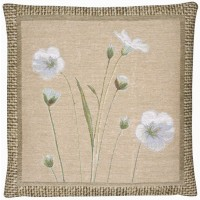 Flax III Pillow Cover