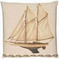 Yacht Pillow Cover