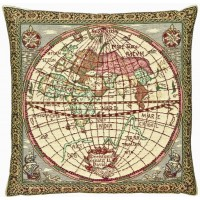 Old World Pillow Cover