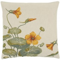Wild Nasturtium II Pillow Cover
