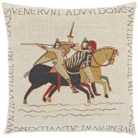Bayeux - Knights Pillow Cover