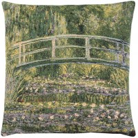 Giverny Bridge Pillow Cover