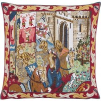 Castle Knights Pillow Cover