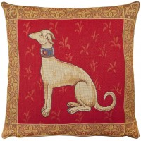 Cluny Whippet Pillow Cover