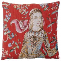Lady Pillow Cover