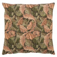 Acanthus Leaf - Gold Pillow Cover