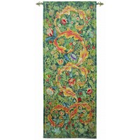 Acanthus Leaf - Gold Tapestry