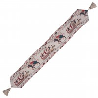 Bayeux Boats Tapestry Table Runner
