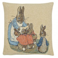 Flopsy Bunnies Pillow Cover
