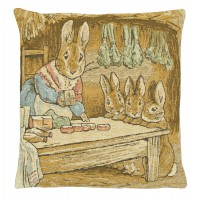 Mrs Rabbit Pillow Cover