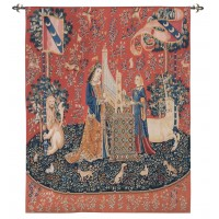 L'Ouie (The Sense of Hearing) Tapestry