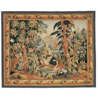 Verdure Exotique Handwoven Tapestry