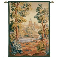 Le Châtelet Handwoven Tapestry