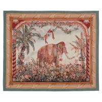 The Elephant Handwoven Tapestry