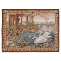 Swan Passage Handwoven Tapestry