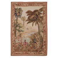 River Palms Handwoven Tapestry