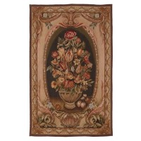 Bay Floral Small Handwoven Tapestry
