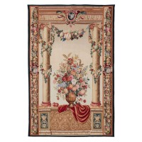 Chateau Columns Handwoven Tapestry