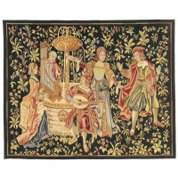 Le Concert Medieval Handwoven Tapestry
