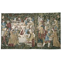Vendanges Medieval Tapestry