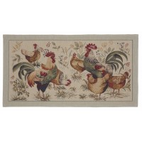 Country Hens Tapestry