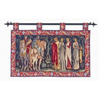 Knights and Ladies of Camelot Tapestry
