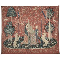 Lady with the Unicorn 'Dame a L'Orgue' Tapestry