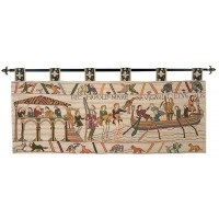 Bayeux -  Harold Sails from Sussex Tapestry